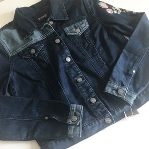 Buffalo David Bitton Jackets & Coats - Buffalo David Bitton Embroidered Jean Jacket Sz S